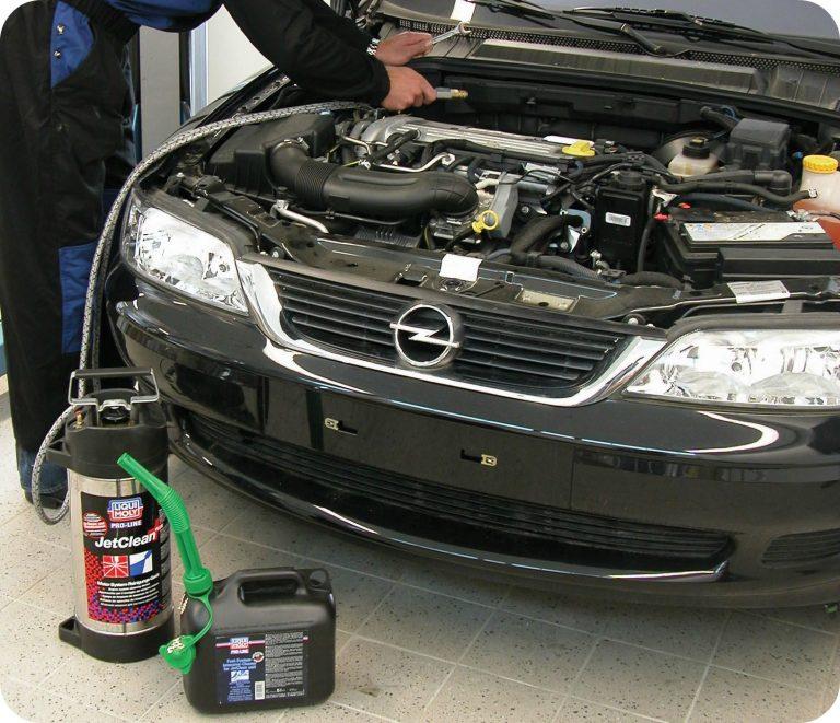 Limpieza de inyectores a gasolina